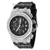 Audemars Piguet Royal Oak Offshore Chronograph Jeweled Black/Silver/Black