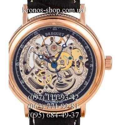 Breguet Skeleton 3658 Black/Gold/Black