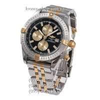 Breitling Chronomat Chronograph Silver-Gold/Silver/Black-Gold