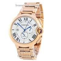 Cartier Ballon Bleu de Cartier Chronograph Gold/White