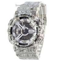 Casio G-Shock GA-110 White-Gray Mud AAA