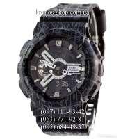 Casio G-Shock GA-110 All Black Mud AAA