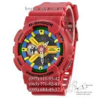 Casio G-Shock GA-110 Red/Yellow Autolight AAA