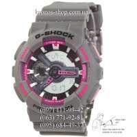 Casio G-Shock GA-110 Gray/Pink Autolight AAA