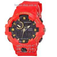 Casio G-Shock GA-700 All Red-Yellow