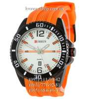 Curren 8178 Orange/Black/White