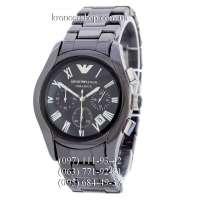 Emporio Armani AR1400 Ceramica All Black/Silver