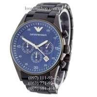 Emporio Armani AR5921 Black/Black/Blue