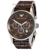 Emporio Armani AR5890 Brown/Silver/Brown