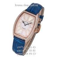 Franck Muller Sunrise Diamonds Blue/Gold/White