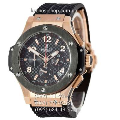Hublot Big Bang Chronograph Gold Black/Gold-Black/Black
