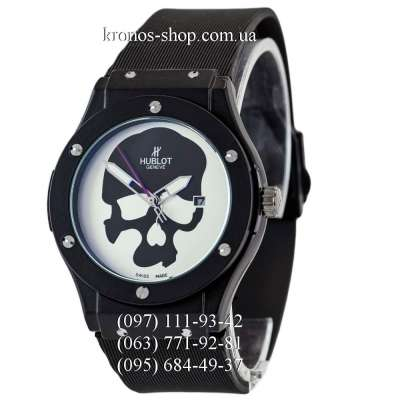 Hublot Classic Fusion Skull Bang Quartz All Black/White