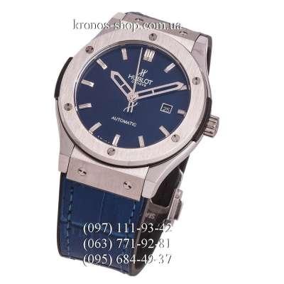 Hublot Classic Fusion Leather Blue/Silver/Blue
