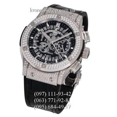 Hublot Classic Fusion Aerofusion Chronograph Diamonds Black/Silver/Black