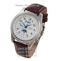 Longines Master Collection Moonphases Brown/Silver/White
