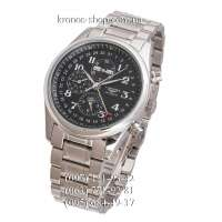 Longines Master Collection Moonphases Steel Silver/Black