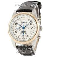 Longines Master Collection Moonphases Black/Silver-Gold/White