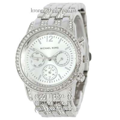Michael Kors Day-Date All Silver