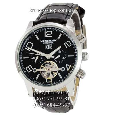 Montblanc TimeWalker Tourbillon Automatic Black/Silver/Black