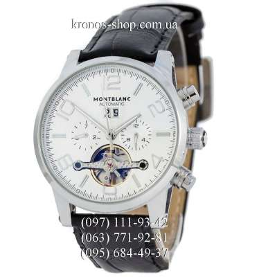 Montblanc TimeWalker Tourbillon Automatic Black/Silver/White