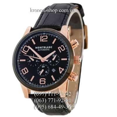 Montblanc TimeWalker Automatic AA Black/Gold-Black/Black