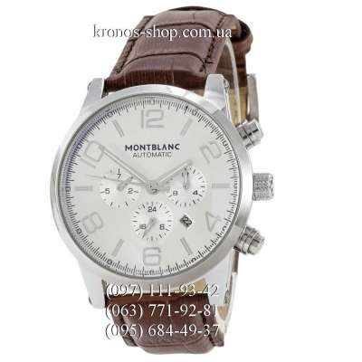 Montblanc TimeWalker Automatic Brown/Silver/White