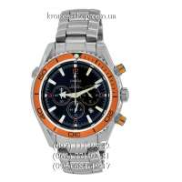 Omega Seamaster Planet Ocean Chrono Steel Silver/Orange/Black