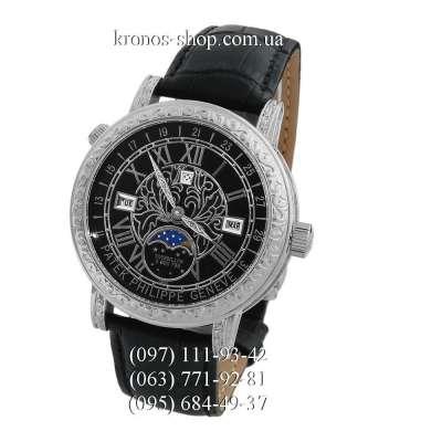 Patek Philippe Grand Complications 6002 Sky Moon Black/Silver/Black