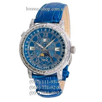 Patek Philippe Grand Complications 6002 Sky Moon Blue/Silver/Blue