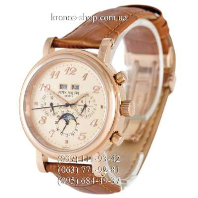 Patek Philippe Grand Complications 5327 Brown/Gold/Gold
