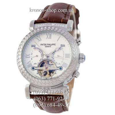 Patek Philippe Grand Complications Power Tourbillon Brown/Silver/White
