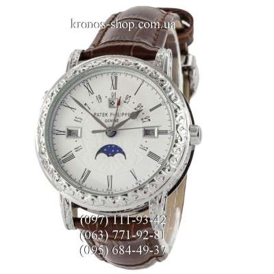 Patek Philippe Grand Complications 5160 Sky Moon Brown/Silver/White