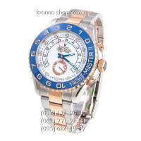 Rolex Yacht-Master II Silver-Gold/Blue/White-Blue
