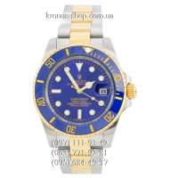 Rolex Submariner Date Silver-Yellow Gold/Blue/Blue