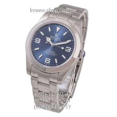 Rolex Explorer Silver/Blue