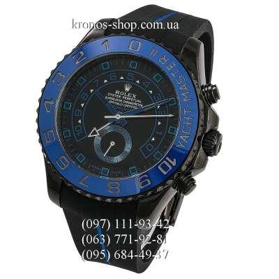 Rolex Yacht-Master II MK II ProHunter Rubber All Black-Blue