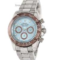 Rolex Cosmograph Daytona AA Plus Silver/Brown/Blue-Brown