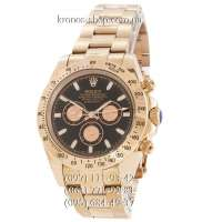 Rolex Cosmograph Daytona AA Plus Pink Gold-Black