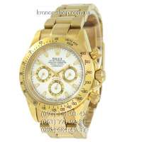 Rolex Cosmograph Daytona AA Plus Gold/White