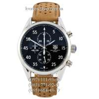 TAG Heuer Carrera 1887 SpaceX Chronograph Brown/Silver/Black