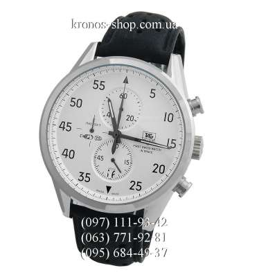 TAG Heuer Carrera 1887 SpaceX Chronograph Black/Silver/White