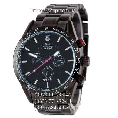 TAG Heuer Grand Carrera Calibre 38 Automatic All Black