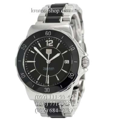 TAG Heuer Formula 1 Steel and Ceramic Silver-Black
