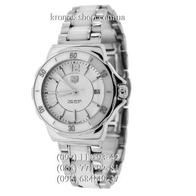 TAG Heuer Formula 1 Steel and Ceramic Silver-White
