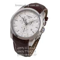 Tissot T-Classic Couturier Chronograph Brown/Silver/White