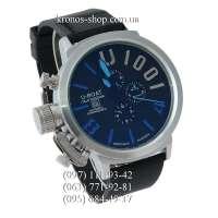 U-Boat Italo Fontana U-1001 Silver/Black-Blue