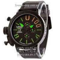 U-Boat Italo Fontana U-1001 V2 All Black-Green