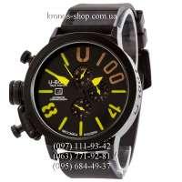 U-Boat Italo Fontana U-1001 V2 All Black-Yellow