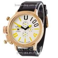 U-Boat Italo Fontana U-1001 V2 Black/Gold/White-Yellow