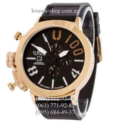 U-Boat Italo Fontana U-1001 V2 Black/Gold/Black
